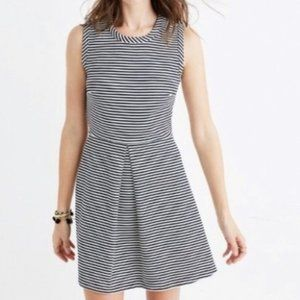 {Madewell} Striped Afternoon Casual Dress